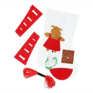 Lav dit eget filt - lav din egen julesok, Sæt